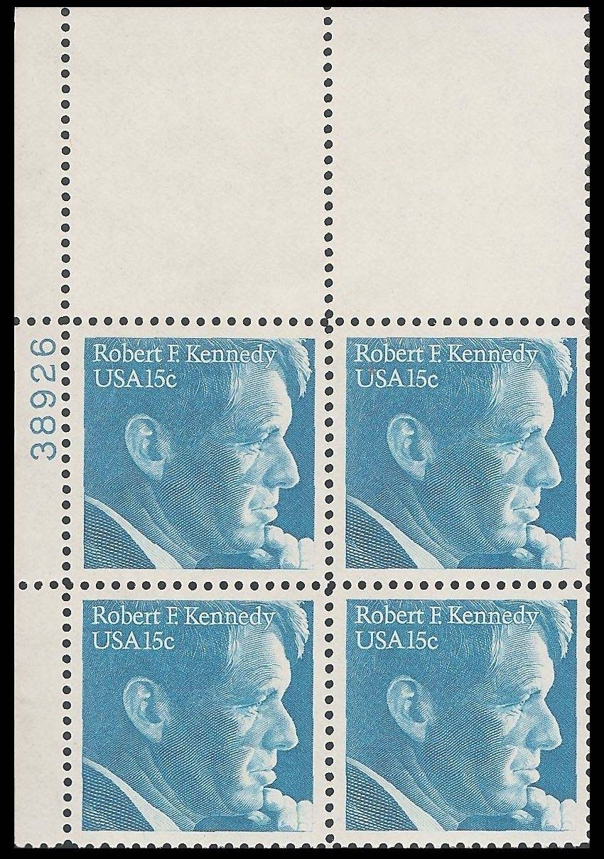 "Scott 1770 Plate Block (15 cents) <p> <a href=""/images/USA-Scott-1770-PB.jpg""><font color=green><b>View the image</a></b></font>"