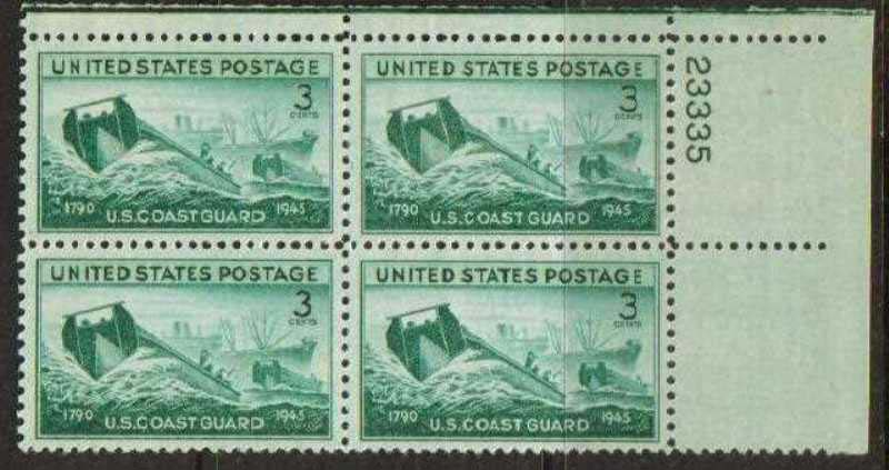 Scott 0936 Plate Block (3 cents) <p> <a href=&quot;/images/USA-Scott-0936-PB.jpg&quot;><font color=green><b>View the image</a></b></font>