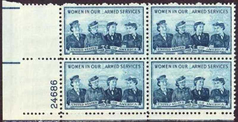 "Scott 1013 Plate Block (3 cents) <p> <a href=""/images/USA-Scott-1013-PB.jpg""><font color=green><b>View the image</a></b></font>"