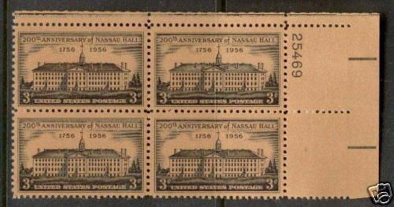 "Scott 1083 Plate Block (3 cents) <p> <a href=""/images/USA-Scott-1083-PB.jpg""><font color=green><b>View the image</a></b></font>"