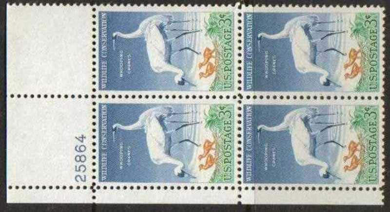 "Scott 1098 Plate Block (3 cents) <p> <a href=""/images/USA-Scott-1098-PB.jpg""><font color=green><b>View the image</a></b></font>"