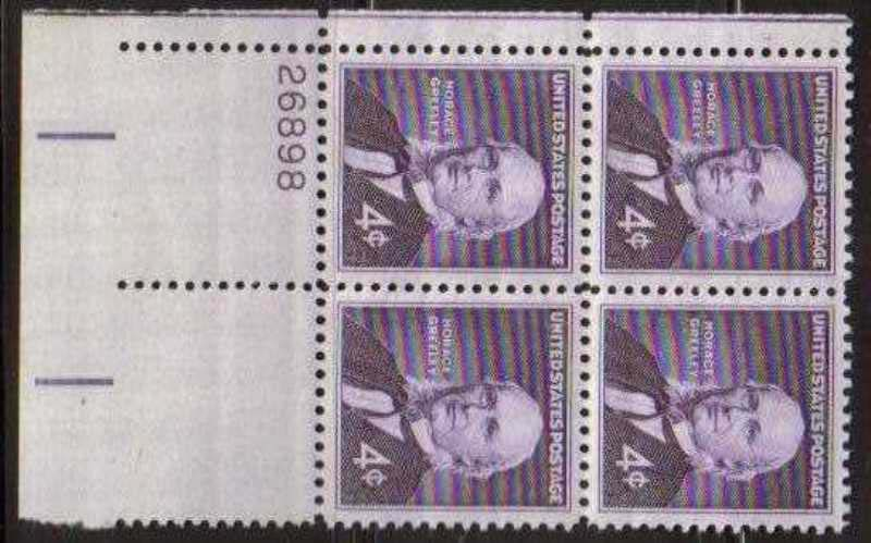 "Scott 1177 Plate Block (4 cents) <p> <a href=""/images/USA-Scott-1177-PB.jpg""><font color=green><b>View the image</a></b></font>"