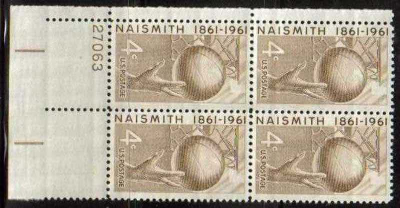 "Scott 1189 Plate Block (4 cents) <p> <a href=""/images/USA-Scott-1189-PB.jpg""><font color=green><b>View the image</a></b></font>"