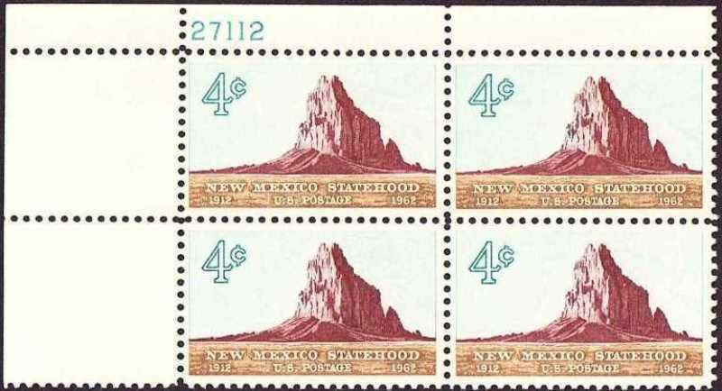 "Scott 1191 Plate Block (4 cents) <p> <a href=""/images/USA-Scott-1191-PB.jpg""><font color=green><b>View the image</a></b></font>"