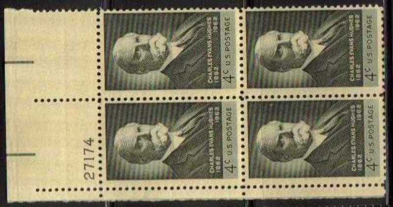 "Scott 1195 Plate Block (4 cents) <p> <a href=""/images/USA-Scott-1195-PB.jpg""><font color=green><b>View the image</a></b></font>"