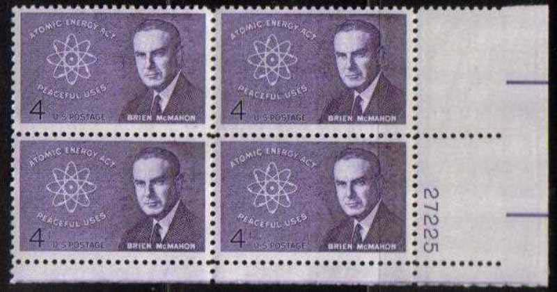 "Scott 1200 Plate Block (4 cents) <p> <a href=""/images/USA-Scott-1200-PB.jpg""><font color=green><b>View the image</a></b></font>"