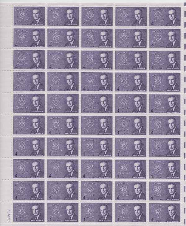 "Scott 1200 Sheet (4 cents) <p> <a href=""/images/USA-Scott-1200-Sheet.jpg""><font color=green><b>View the image</a></b></font>"