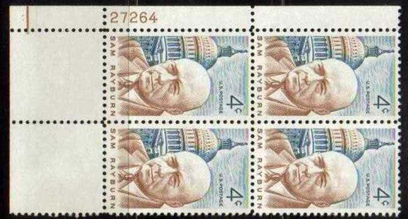 "Scott 1202 Plate Block (4 cents) <p> <a href=""/images/USA-Scott-1202-PB.jpg""><font color=green><b>View the image</a></b></font>"
