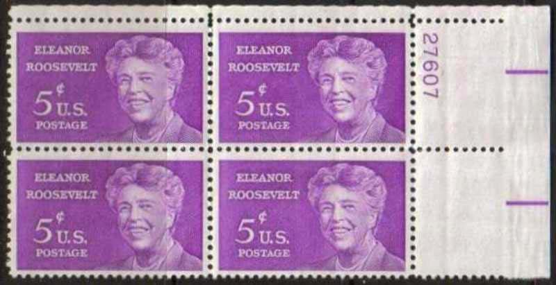 "Scott 1236 Plate Block (5 cents) <p> <a href=""/images/USA-Scott-1236-PB.jpg""><font color=green><b>View the image</a></b></font>"