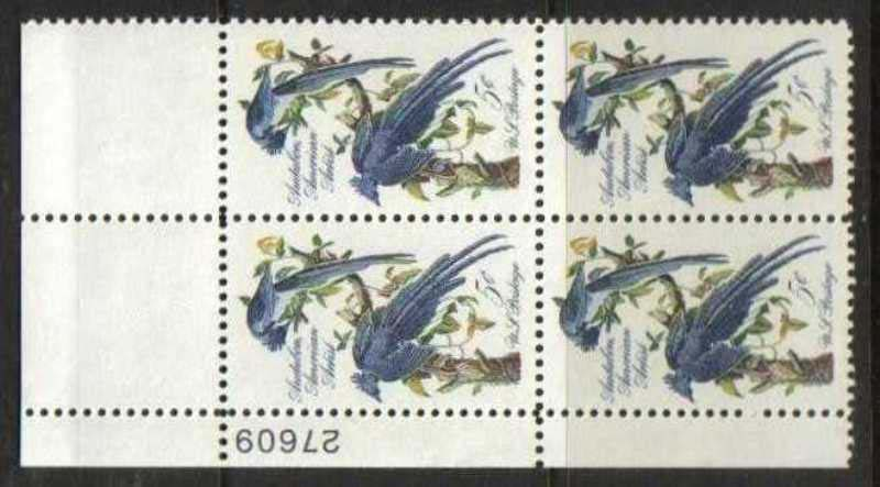 "Scott 1241 Plate Block (5 cents) <p> <a href=""/images/USA-Scott-1241-PB.jpg""><font color=green><b>View the image</a></b></font>"