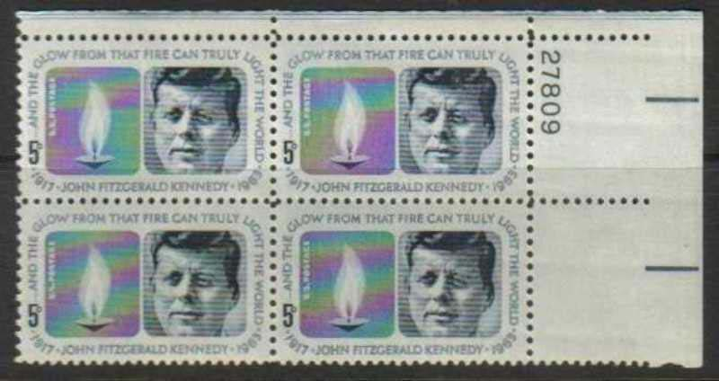 "Scott 1246 Plate Block (5 cents) <p> <a href=""/images/USA-Scott-1246-PB.jpg""><font color=green><b>View the image</a></b></font>"