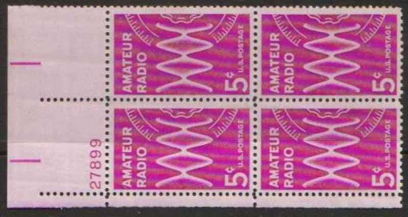 "Scott 1260 Plate Block (5 cents) <p> <a href=""/images/USA-Scott-1260-PB.jpg""><font color=green><b>View the image</a></b></font>"