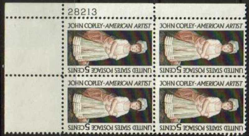 Scott 1273 Plate Block (5 cents) <p> <a href=&quot;/images/USA-Scott-1273-PB.jpg&quot;><font color=green><b>View the image</a></b></font>