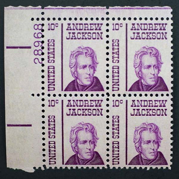 "Scott 1286 Plate Block (10 cents) <p> <a href=""/images/USA-Scott-1286-PB.jpg""><font color=green><b>View the image</a></b></font>"