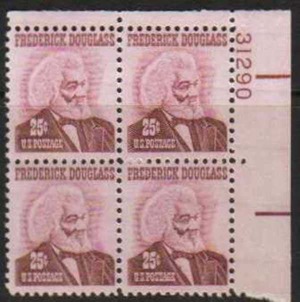 "Scott 1290 Plate Block (25 cents) <p> <a href=""/images/USA-Scott-1290-PB.jpg""><font color=green><b>View the image</a></b></font>"