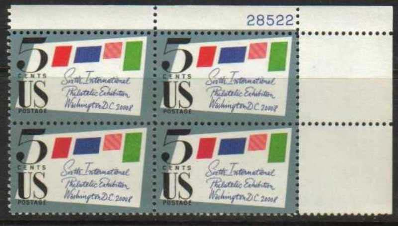 "Scott 1310 Plate Block (5 cents) <p> <a href=""/images/USA-Scott-1310-PB.jpg""><font color=green><b>View the image</a></b></font>"