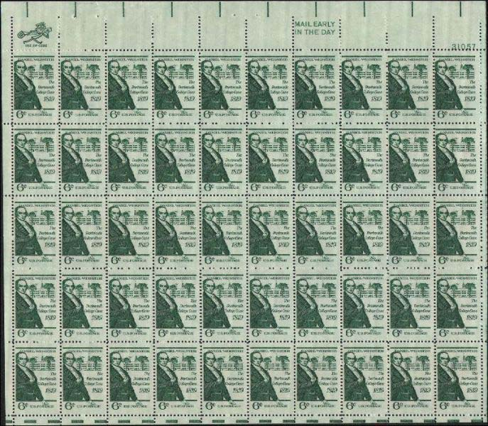 "Scott 1380 Sheet (6 cents) <p> <a href=""/images/USA-Scott-1380-Sheet.jpg""><font color=green><b>View the image</a></b></font>"