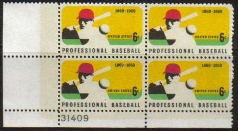 Scott 1381 Plate Block (6 cents) <p> <a href=&quot;/images/USA-Scott-1381-PB.jpg&quot;><font color=green><b>View the image</a></b></font>