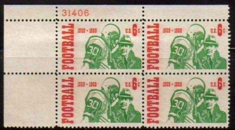 "Scott 1382 Plate Block (6 cents) <p> <a href=""/images/USA-Scott-1382-PB.jpg""><font color=green><b>View the image</a></b></font>"