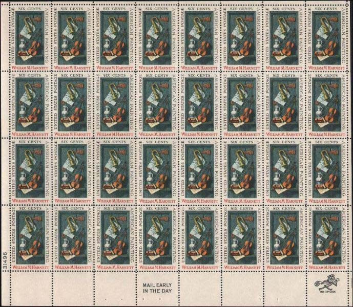 "Scott 1386 Sheet (6 cents) <p> <a href=""/images/USA-Scott-1386-Sheet.jpg""><font color=green><b>View the image</a></b></font>"
