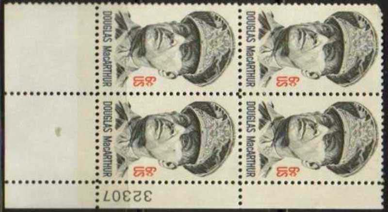 "Scott 1424 Plate Block (6 cents) <p> <a href=""/images/USA-Scott-1424-PB.jpg""><font color=green><b>View the image</a></b></font>"