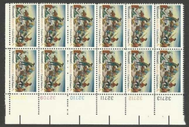 "Scott 1426 Plate Block of 12 (8 cents) <p> <a href=""/images/USA-Scott-1426-PB-12.jpg""><font color=green><b>View the image</a></b></font>"