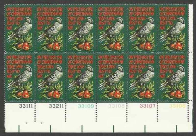 "Scott 1445 Plate Block of 12 (8 cents) <p> <a href=""/images/USA-Scott-1445-PB-12.jpg""><font color=green><b>View the image</a></b></font>"