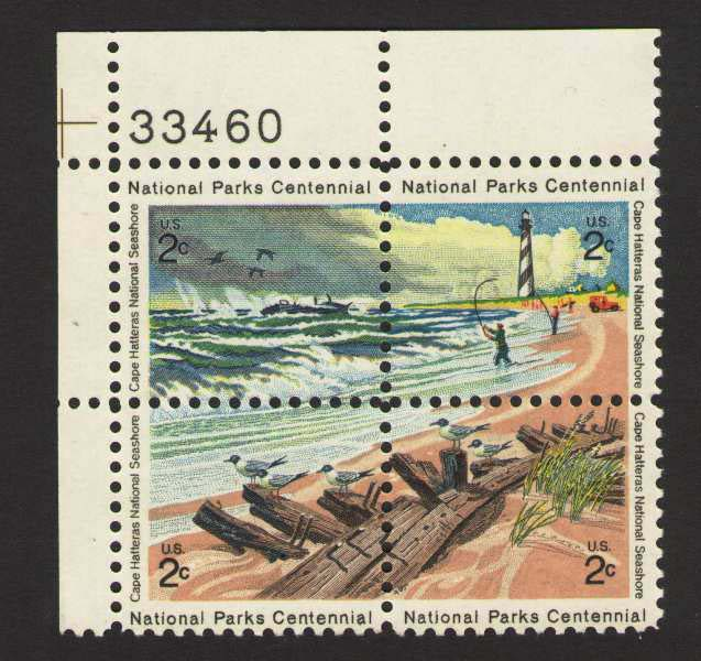 "Scott 1448-1451 Plate Block (2 cents) <p> <a href=""/images/USA-Scott-1448-1451-PB.jpg""><font color=green><b>View the image</a></b></font>"