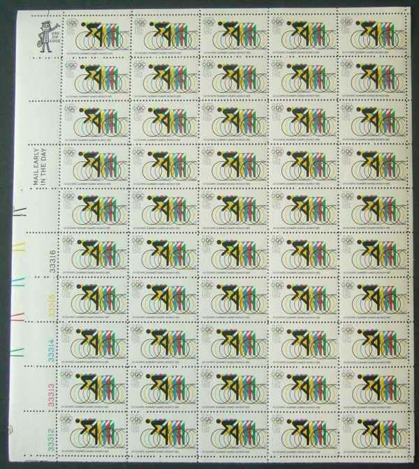 "Scott 1460 Sheet (6 cents) <p> <a href=""/images/USA-Scott-1460-Sheet.jpg""><font color=green><b>View the image</a></b></font>"