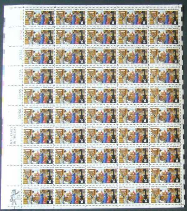 "Scott 1468 Sheet (8 cents) <p> <a href=""/images/USA-Scott-1468-Sheet.jpg""><font color=green><b>View the image</a></b></font>"