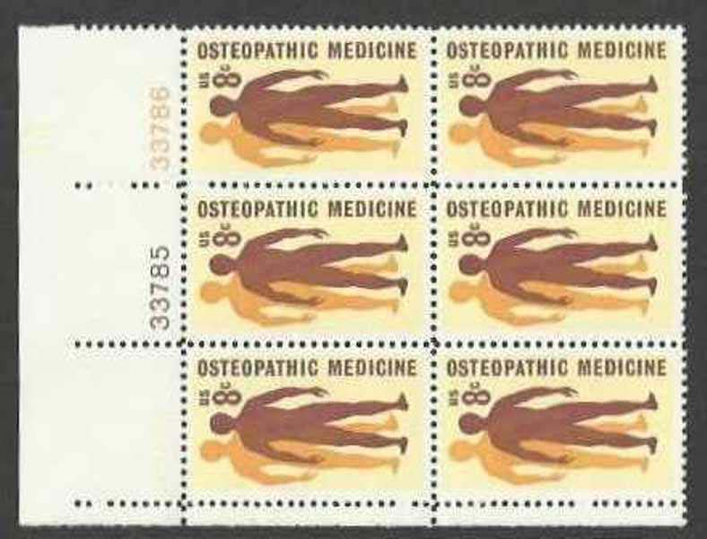 "Scott 1469 Plate Block of 6 (8 cents) <p> <a href=""/images/USA-Scott-1469-PB-6.jpg""><font color=green><b>View the image</a></b></font>"