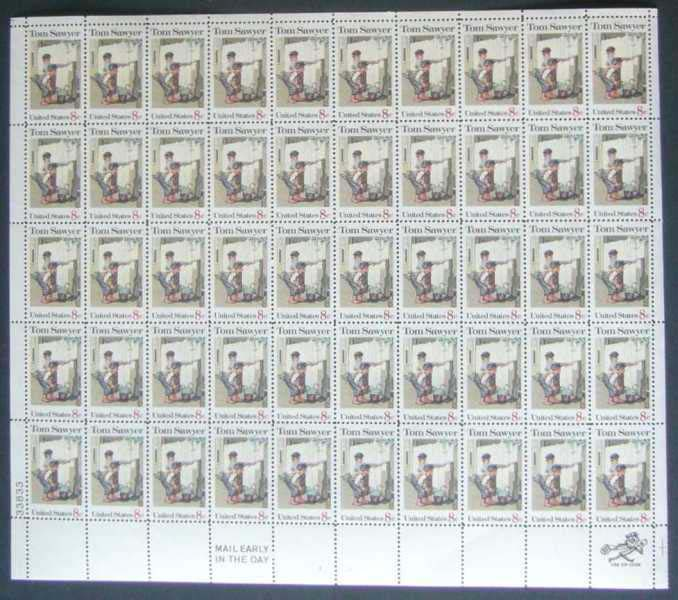 "Scott 1470 Sheet (8 cents) <p> <a href=""/images/USA-Scott-1470-Sheet.jpg""><font color=green><b>View the image</a></b></font>"