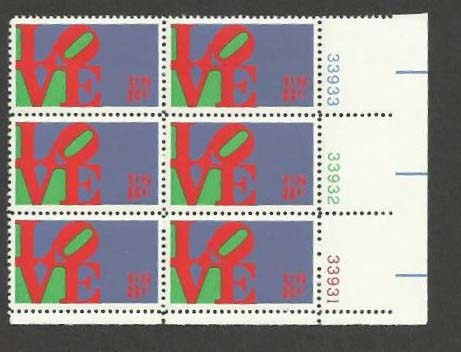 Scott 1475 Plate Block of 6 (8 cents)