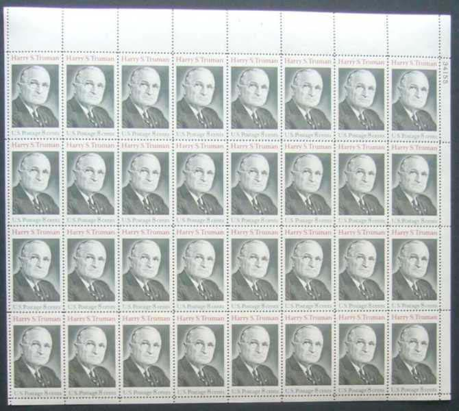 "Scott 1499 Sheet (8 cents) <p> <a href=""/images/USA-Scott-1499-Sheet.jpg""><font color=green><b>View the image</a></b></font>"