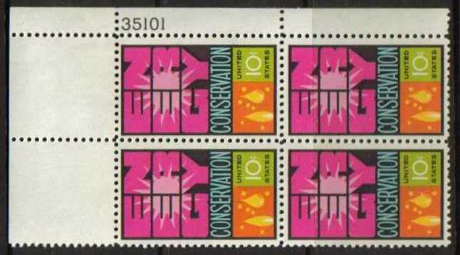 "Scott 1547 Plate Block (10 cents) <p> <a href=""/images/USA-Scott-1547-PB.jpg""><font color=green><b>View the image</a></b></font>"