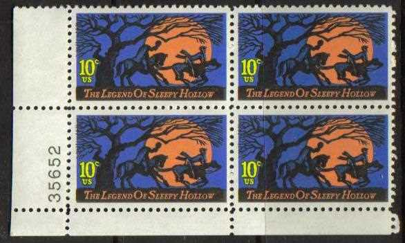 "Scott 1548 Plate Block (10 cents) <p> <a href=""/images/USA-Scott-1548-PB.jpg""><font color=green><b>View the image</a></b></font>"