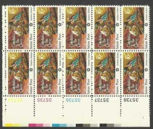 "Scott 1560 Plate Block of 10 (10 cents) <p> <a href=""/images/USA-Scott-1560-PB-10.jpg""><font color=green><b>View the image</a></b></font>"