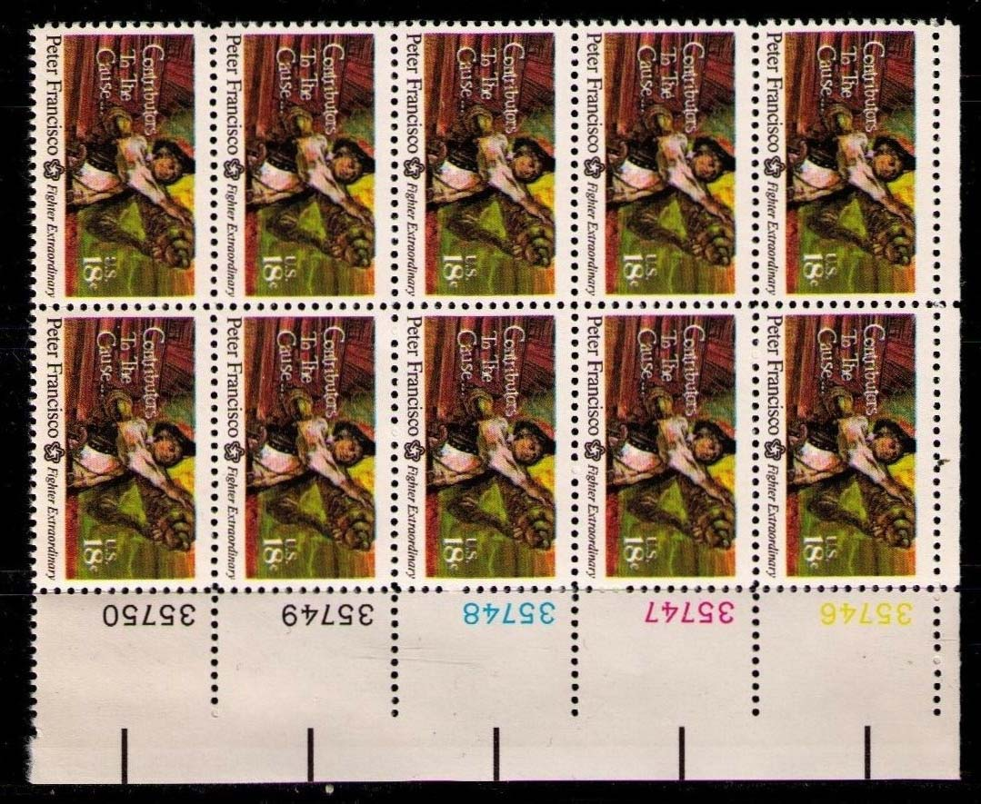 "Scott 1562 Plate Block of 10 (18 Cents) <p> <a href=""/images/USA-Scott-1562-PB-20.jpg""><font color=green><b>View the image</a></b></font>"
