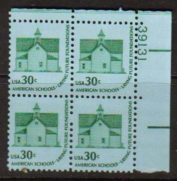 "Scott 1606 Plate Block (30 cents) <p> <a href=""/images/USA-Scott-1606-PB.jpg""><font color=green><b>View the image</a></b></font>"