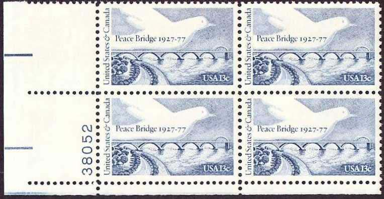 "Scott 1721 Plate Block (13 cents) <p> <a href=""/images/USA-Scott-1721-PB.jpg""><font color=green><b>View the image</a></b></font>"
