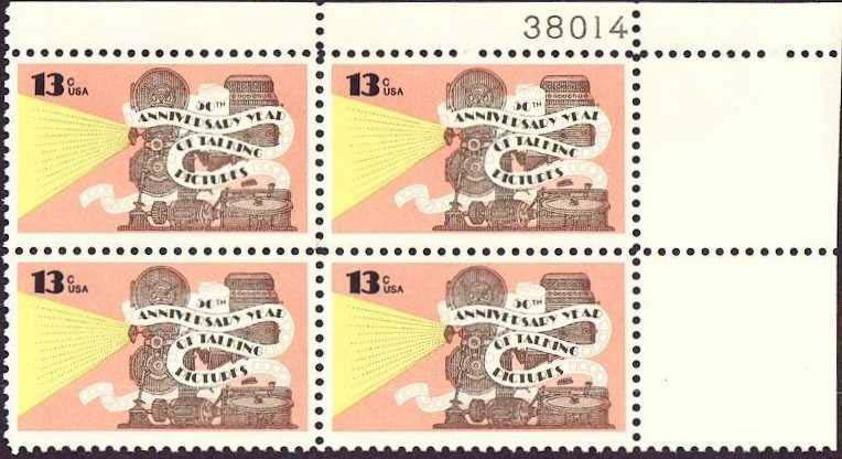 "Scott 1727 Plate Block (13 cents) <p> <a href=""/images/USA-Scott-1727-PB.jpg""><font color=green><b>View the image</a></b></font>"