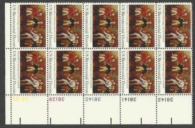 "Scott 1728 Plate Block of 10 (13 cents) <p> <a href=""/images/USA-Scott-1728-PB-10.jpg""><font color=green><b>View the image</a></b></font>"