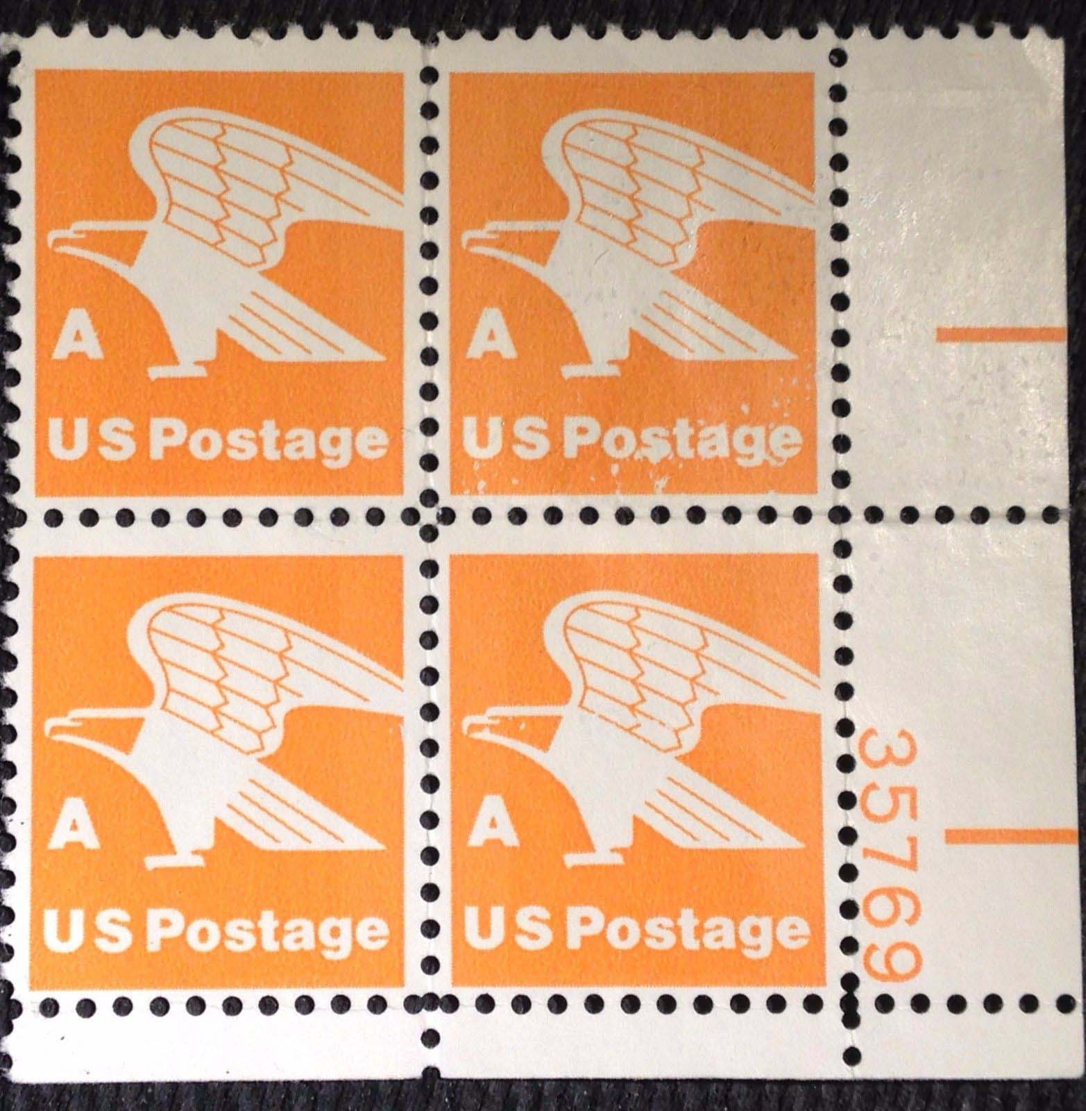 "Scott 1735 Plate Block (15 cents) <p> <a href=""/images/USA-Scott-1735-PB.jpg""><font color=green><b>View the image</a></b></font>"
