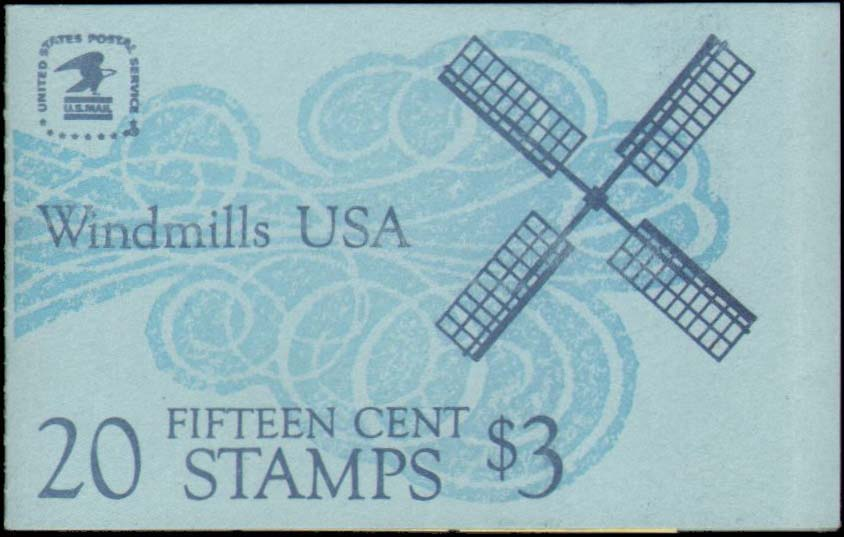 Scott 1742a Booklet #135 (15 cents) <p> <a href=&quot;/images/USA-Scott-1742a-Booklet-135.jpg&quot;><font color=green><b>View the image</a></b></font>