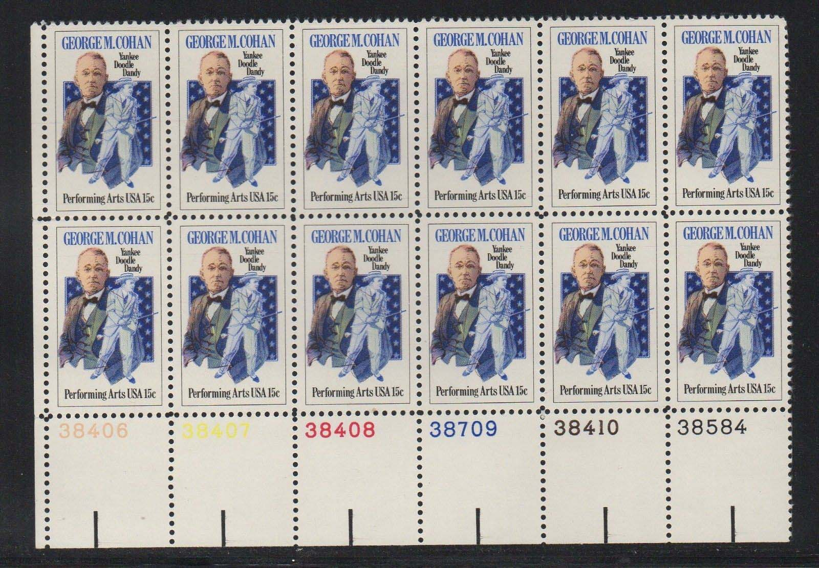 "Scott 1756 Plate Block of 12 (15 cents) <p> <a href=""/images/USA-Scott-1756-PB-12.jpg""><font color=green><b>View the image</a></b></font>"