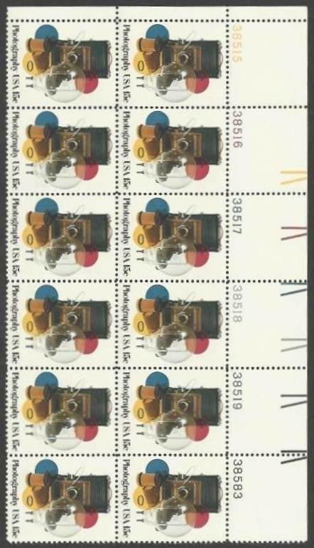 "Scott 1758 Plate Block of 12 (15 cents) <p> <a href=""/images/USA-Scott-1758-PB-12.jpg""><font color=green><b>View the image</a></b></font>"