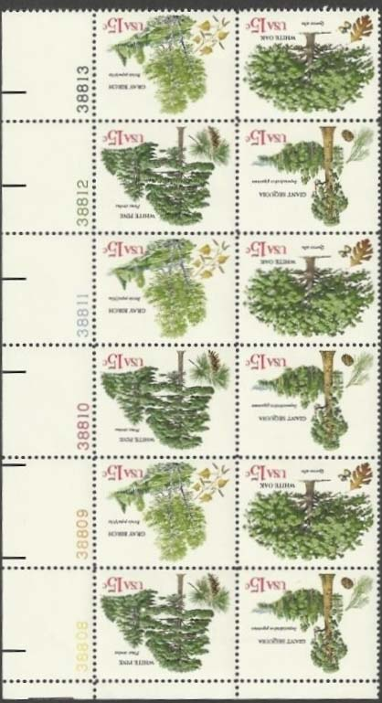 Scott 1764-1767 Plate Block of 12 (15 cents) <p> <a href=&quot;/images/USA-Scott-1764-1767-PB-12.jpg&quot;><font color=green><b>View the image</a></b></font>