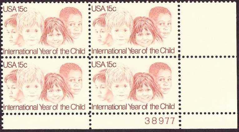 "Scott 1772 Plate Block (15 cents) <p> <a href=""/images/USA-Scott-1772-PB.jpg""><font color=green><b>View the image</a></b></font>"