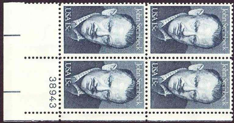 "Scott 1773 Plate Block (15 cents) <p> <a href=""/images/USA-Scott-1773-PB.jpg""><font color=green><b>View the image</a></b></font>"