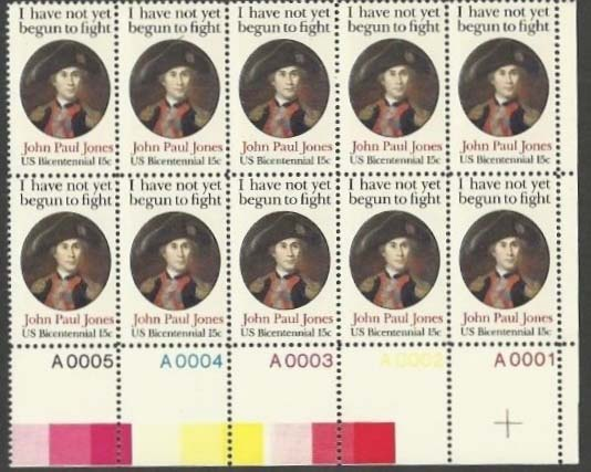 "Scott 1789 Plate Block of 10 (15 cents) <p> <a href=""/images/USA-Scott-1789-PB-10.jpg""><font color=green><b>View the image</a></b></font>"